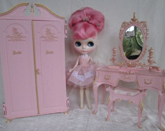 RESevered...for Blythegirl11...ONLY!!!!....Custom Orders Only!!!...Vintage Doll Vanity Set...ONLY!!!.. NO Closets at this time.....Super Pr