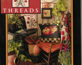 On Sale 33 Percent Off French Market Threads Need'l Love Quilting Rug Hooking Punchneedle Wool Penny Projects Sewing Quilt Book
