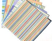 Candy Stripe - 6x6 Doodlebug Design Paper Pack