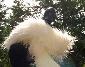 ON SALE #Scarf #Faux Fur #White #Womens #Mens #Fashion #Winter