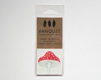 Tattoo - Cute Mushroom Temporary Tattoo
