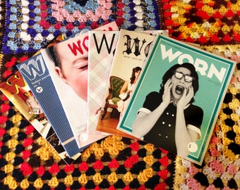 6 issues of WORN gift pack