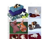 Pet bed pattern fish or bone pillow fish or bone gift sack dish mat and decorative collar McCalls 3472 Sewing pattern