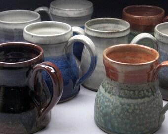 Assorted Stoneware Coffee Mug