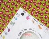 Set C - Large I Spy Bag Travel Toy - Ladybug