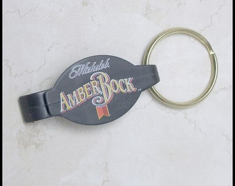 Michelob Amber Rock Key Ring with Bottle Opener