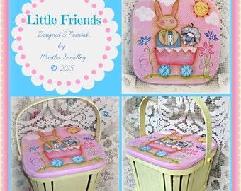Apple Tree Cottage Original Design E Pattern  -  Little Spring Friends