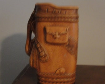 Lefton Golf Bag Planter/Vase