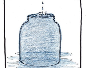 God's Jar of Tears PRINT