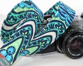 Canon Camera Strap, Nikon, DSLR - Hipster, Retro iKat Indigo