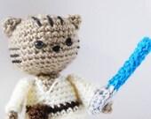Jedi Cat Amigurumi Pattern