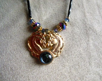 Heart Horses, Necklace