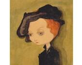 "Mimi in a ""Cranach"" Giclee Fine Art Print, Painting, Giclée"