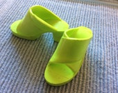 Tiffany taylor ideal doll shoes green