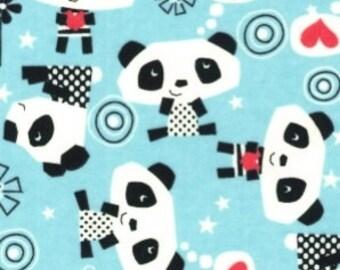 Last Pair...PANDA BEARS flannel lounge pants/pajama pants children's sizes 0-3 to 4T?