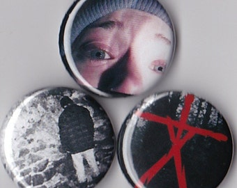 3 Blair Witch Project Pinback Buttons