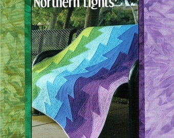 Northern Lights Quilt Kit w/ Hand Dyed Fabric - FREE SHIPPING