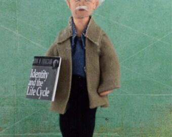 Erik Erikson Doll Miniature Psychologist And Author