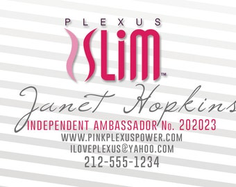 Plexus Business Card - Digital File Only