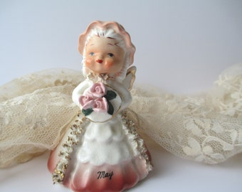 Napco May Angel Figurine - Darling Vintage