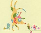 Dog Circus Star Print 8.5 x 11