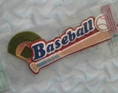 Jolee's Boutique Title Waves BASEBALL SPORTS Sticker Embellishments CLEARANCE
