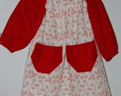 SALE! Christmas dress.  Casual peasant style.  Size 24mo/2T