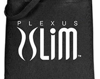 Black Plexus Slim Tote Bag