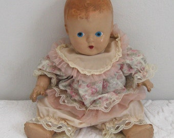 30s Composition Baby Doll / Baby Doll
