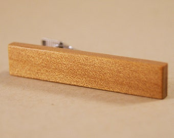 Tie Clip Crafted from Ancient Kauri Wood - Carbon Dated to 50,000 years old