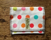 SNACK BAG. Reusable snack baggie, eco friendly lunch, sandwich bag