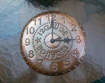 12 Gauge Clock Shot Gun Shell Rustic Copper 10 Inch By West Tinworks