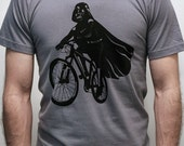 Darth Vader is Riding It - Mens t shirt (Star Wars  Darth Vader bike t shirt)