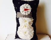 Frozen Snowman Pillow