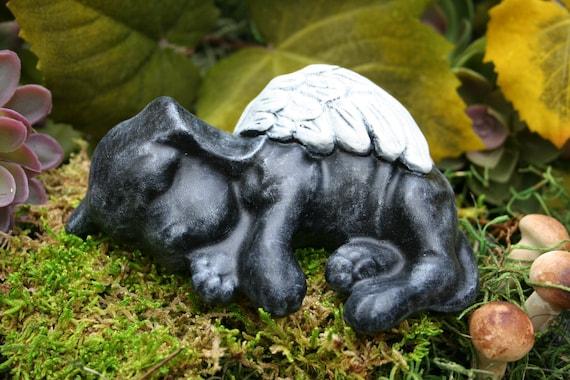 Black Lab Garden Statue Garden Ftempo