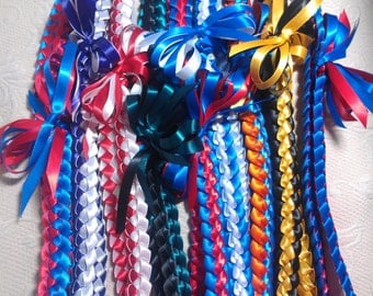 Single Braid Ribbon Lei