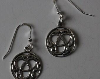 Sterling Silver TRINITY Earrings  -