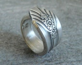 Imperial, Antique Silver Spoon Ring