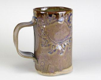 Lavender Salvage Textured Mug
