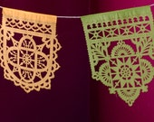 TALAVERA small papel picado banners - Ready Made