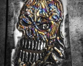 Skull, Tattooed Metal