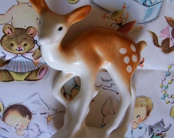 charming vintage deer figurine