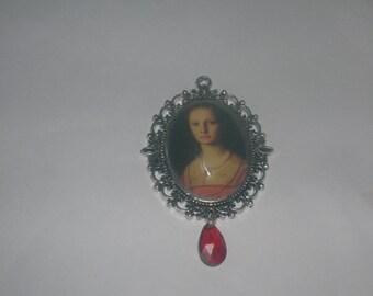 Elizabeth Bathory, the Blood Countess pendant