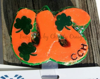 March Clovers Badge Holder - Seasonal