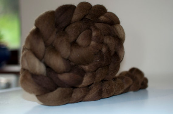 100g Handpainted Merino Fibre in Wallaby Colourway