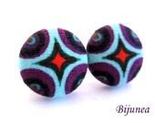 Indian earrings - Purple indian stud earrings - Indian studs - Indian posts - Indian post earrings sf1208
