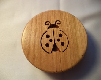 Ladybug tiny treasure box