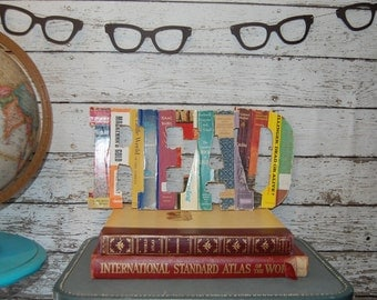 Nerd Eyeglasses Pennant Bunting Garland Photo Party Prop