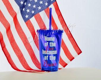 Patriotic Tumbler