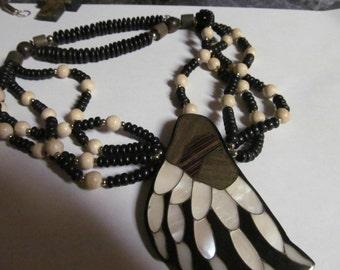 bony foot necklace